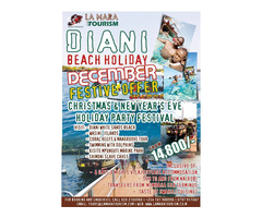 4 DAYS DIANI BEACH HOLIDAY PACKAGE