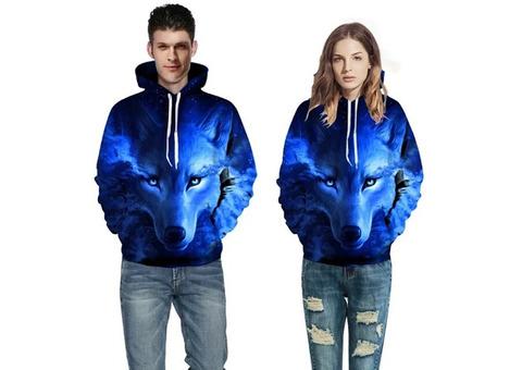 Female and male hoodies