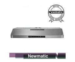 Newmatic H18.9X2 Undermount Chimney Slim Hood