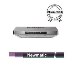 Newmatic H18.6X2 Undermount Chimney Slim Hood