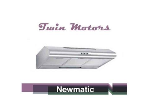 Newmatic H17.6X2 Undermount Chimney Slim Hood