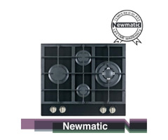 Newmatic PM640STGB Built in Cooker Hob