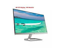 HP 27f Display Ultraslim Full-HD IPS 27 inch Monitor