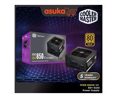 Coolermaster MWE 850 WATTS V2 80 PLUS GOLD Full Modular Gaming Power Supply