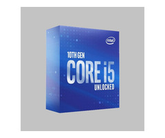 Intel HexaCore i5 10600K upto 4.8GHz 10th generation boxed Processor for desktop