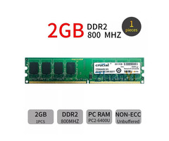 Refurbished 2GB DDR2 {pc2} Desktop RAM