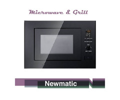 Newmatic 25EPS Built in Microwave & Grill