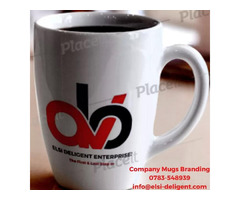 Company Mugs Branding