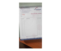 Invoice books printing