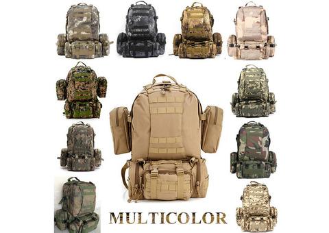 Military Bag 55L-Tactical Bag/Trekking/hiking/camping/Traveling bag