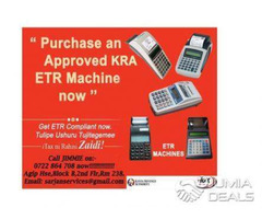 K.R.A APPROVED ETR MACHINES