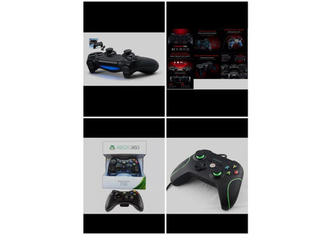 Gamepads and Controllers