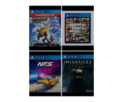 New PlayStation 4 and ps5 Games from Ksh 2250/=
