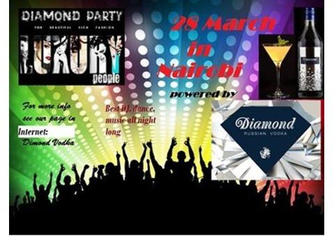 Russian Diamond Vodka party by Donn Joseph