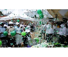 Confetti & Helium Balloons Visual Effects for Events