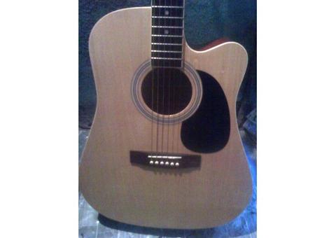 Semi-Acoustic Guitar by Robert