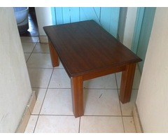 Beech solid coffee table, excellent condition