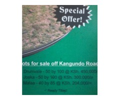PLOTS FOR SALE at KAMULU
