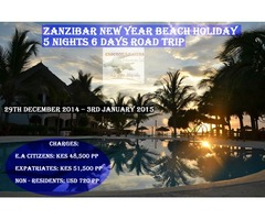 Zanzibar New Year Beach Holiday