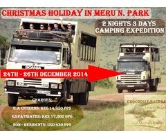 Christmas Holiday Safari To Meru National Park