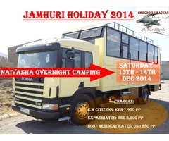Jamhuri Holiday Hells Gate & Geothermal Natural SPA Pool
