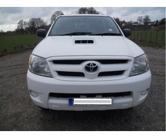 Toyota Vigo Invincible 4WD Double Cab model 2008  EX UK Fully loaded