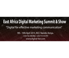 East African Digital Marketing Summit and Show