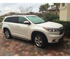 Selling my 2014 Toyota Highlander Limited $18,150 USD