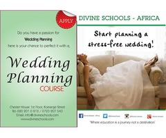 Do you have a passion for Wedding planning and Event Management? Here is your chance to perfect it