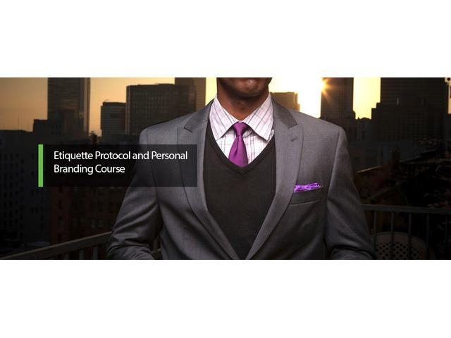 ETIQUETTE PROTOCOL & PERSONAL BRANDING COURSE