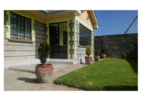 A 4  BEDROOM BUNGALOW,THIKA-NJAMBINI JUNCTION NEAR FLY-OVER.A
