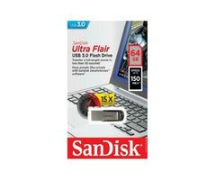 SanDisk SanDisk Ultra Flair USB 3.0 Flash Drive - 64GB