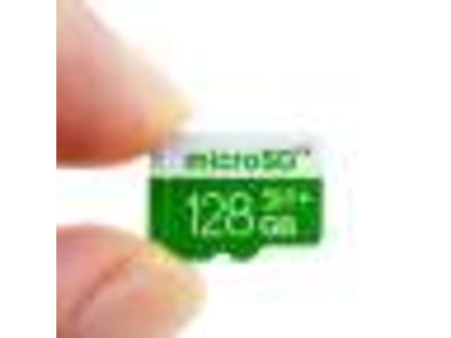 128GB Micro SD Card Class 10 Full Capacity Guaranteed