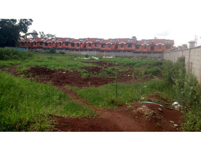 Quarter acre plots for sell at Sigona along Waiyaki Way.L3.
