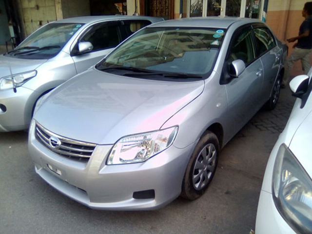 Toyota Axio for sale imported from Japan