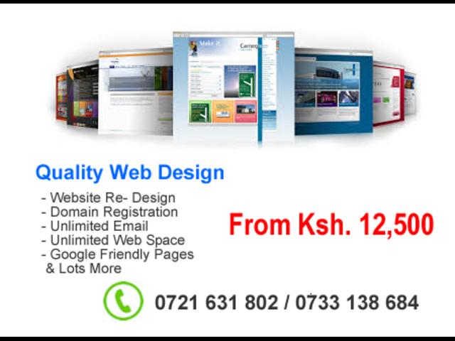 Quality Website Design for SMEs & Corporates