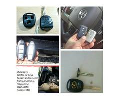 Car keys - For all lost car keys and duplication