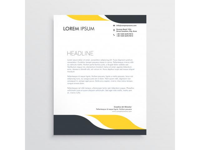Company Letterhead Printing