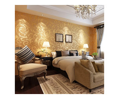 3D wallpapers, gypsum ceiling, painting, wall to wall carpets