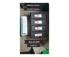 Battery Power Backup for home