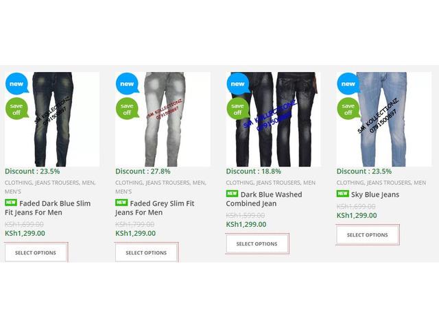 Men's Jeans for Sale in Nairobi, Kenya