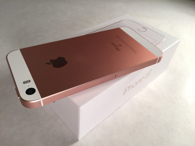Used iPhone SE 32GB Rose gold for sale
