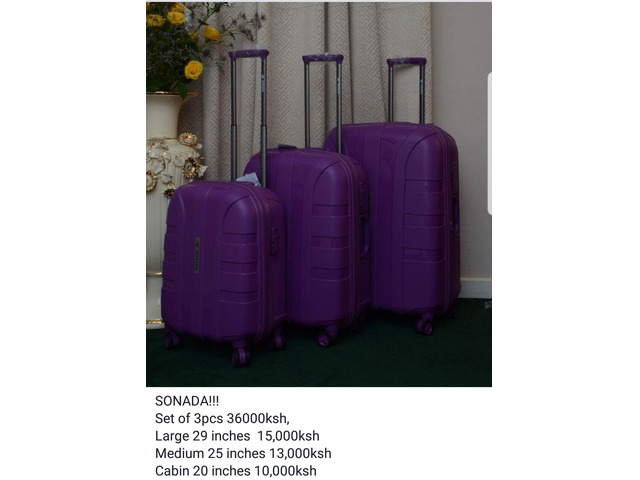 quality SUITCASES! free delivery all over kenya