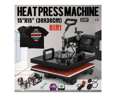 8 in 1 Multifunction Digital Heat Press Machine / Dye sublimation
