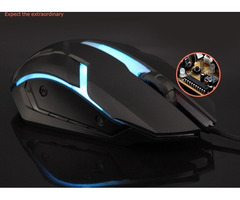 Backlit USB 4 button Gaming Mouse 632