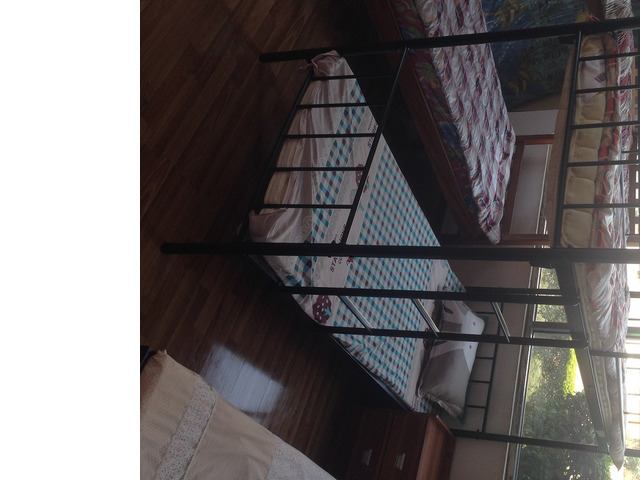 Metallic Double Decker Bed