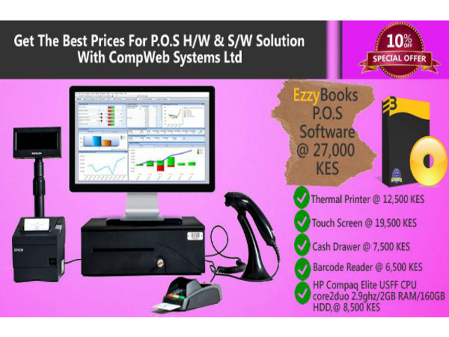 EzzyBooks Point of Sale Software
