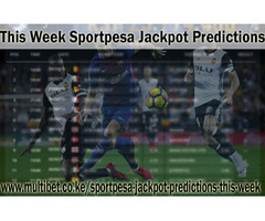 This Week Sportpesa Jackpot Prediction