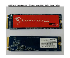 480GB NVMe PCe M.2 {brand new SSD} Solid State Drive