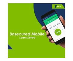 Get Quick and Fast Unsecured Mobile Loans | Contact KCB Bank